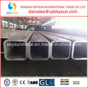Building Material Welded Square and Rectangular Steel Pipe