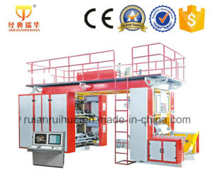 High Speed 4 Color Film Polythene Printing Machine pictures & photos