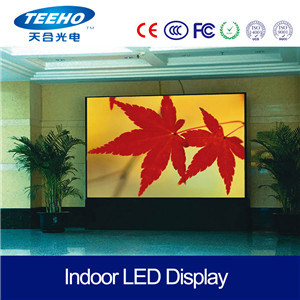 Interior 4mm Giant High Definition LED Video Display Sign LED Wall pictures & photos