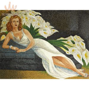 Glass Tile for Mosaic Design of Oil Painting pictures & photos