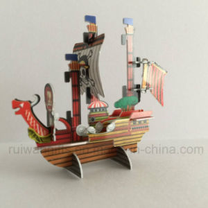 Pirate Ship 3D Puzzle for Food Promotion Gifts pictures & photos