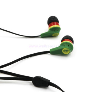 3.5mm Universal Stereo Mobile Phone Earphone with Mic pictures & photos