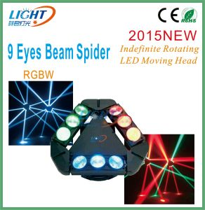9 Eyes Spider Indefinite Rotating Beam Moving Head pictures & photos