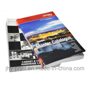 Perfect Binding Full Color Catalogue /Brochure Printing (jhy-433) pictures & photos