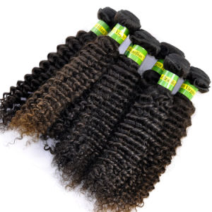 Grade 5A Brazilian Virgin Hair Extensions Kinky Curly pictures & photos