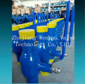 Russian Standard All Welded Body Ball Valve pictures & photos