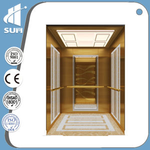 Ce Approved Speed 1.0-1.75m/S Capacity 630-2000kg Residential Elevator pictures & photos