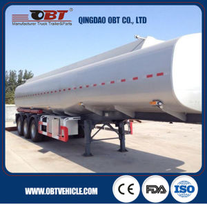 Cheap Price Chemical Liquid Transportation Tank Semi Trailer pictures & photos