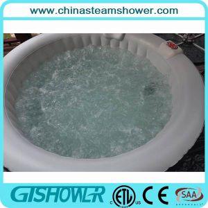 Computerzied Portable Plastic Adult Bath Tub (pH050017 Grey/Black) pictures & photos