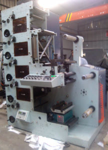 Flexographic Printing Machine with Three Die Cutting for Sale pictures & photos