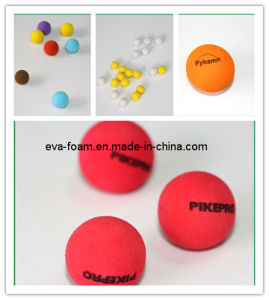 Logo Print Foam Ball Colored EVA Foam Red Balls