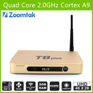Quad Core Android TV Box T8 Plus with Ota Upgrade 16GB pictures & photos