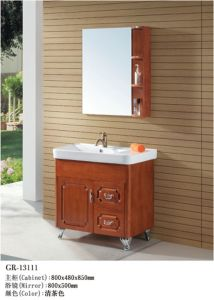 Wooden Furniture Bathroom Cabinet (13111) pictures & photos