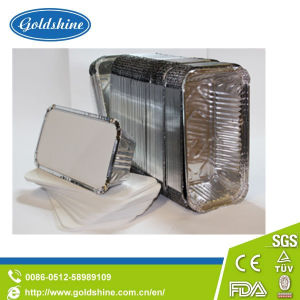 Food Grade Aluminum Foil Container Board Lid pictures & photos