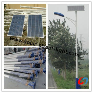 Ce RoHS Approved IP65 60W Solar LED Street Light pictures & photos