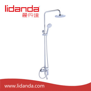 Contemporary Tub Shower Faucet with 8 Inch Shower Head + Hand Shower pictures & photos