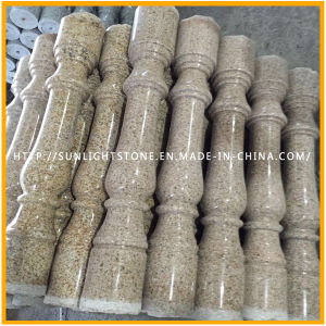 Natural Stone Yellow G682/G603/562 Granite Balustrade for Outdoor Staircases pictures & photos