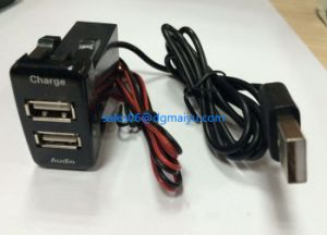 New Audio USB Charger Socket for Toyota Car pictures & photos