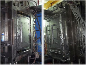 Hi-Glossy Steam Heated Plastic Mould for TV Appliance with 3300 Injection Molding pictures & photos