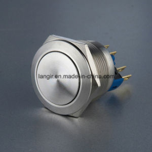 Langir 22mm Reset Waterproof Momentary Vandal Resist Push Button Switch pictures & photos