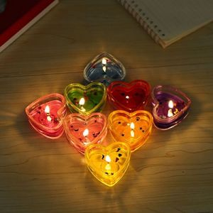 Heart Shaped Tin Candle for Weedings; Parties and Birthdays pictures & photos