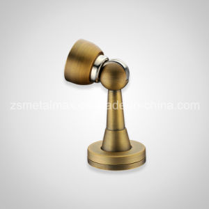 Stainless Steel or Zinc Alloy Satin Brass Door Stop (MD006) pictures & photos