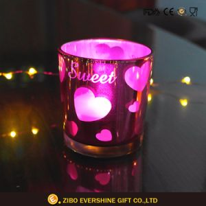 Image Promotion Glass Candle Holder with Gel Candle pictures & photos
