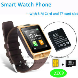 Cheapest Bluetooth Smart Watch Phone with SIM Card Slot Dz09 pictures & photos