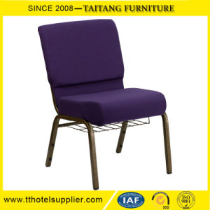 Wholesale Cheap Stacking Metal Connectable Church Chair Connectable pictures & photos