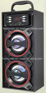 2.0CH Wooden USB SD Speaker 3W*2 Bg316f Portable Speaker pictures & photos