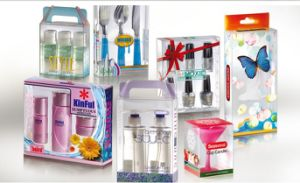Elegant Transparent Pet/PVC Box for Cosmetics pictures & photos