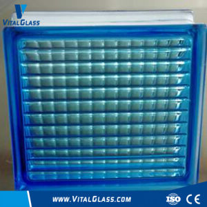 Customized Design Blue Parallel Glass Block (G-B) pictures & photos