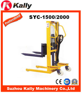 Material Handling Equipments for Hand Stacker (SYC-1500/2000) pictures & photos