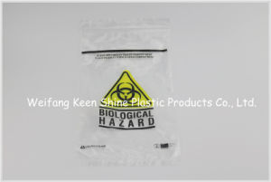 Manufacture Sell Customized Biohazard Specimen Zip Lock Bag for Lab pictures & photos
