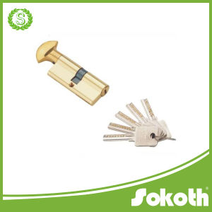 2016 Gold Tone Metal Safety Home Door Lock Cylinder pictures & photos