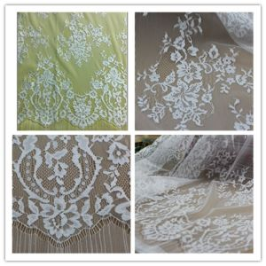 Floral Cotton Chemical Bridal Lace for Wedding Dress