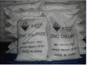 98% Zinc Chloride for Battery and Industry Grade pictures & photos