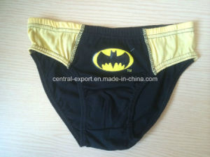 Bat-Men Printed Fashion Boy Brief pictures & photos
