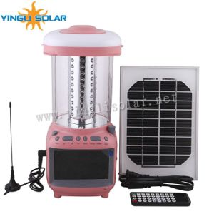 Camping Portable Solar Lantern with TV pictures & photos