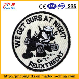 Custom 2D or 3D Garment Embroidered Patches 5 pictures & photos