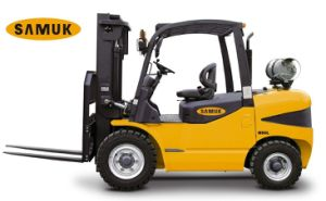 Gasoline LPG Forklift 4.0-7.0ton pictures & photos