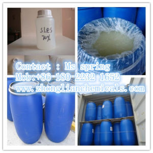 Raw Material Sodium Lauryl Ether Sulfate 70% SLES for Liquid Detergent pictures & photos