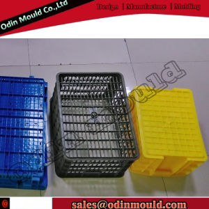 Hot Runner Injection Turnover Box Plastic Mould pictures & photos