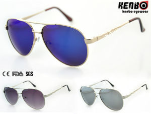Hot Sale Fashion Metal Sunglasses with Nice Temple Km15207 pictures & photos