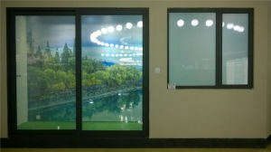 Switch off Milk White Color, Switch on Transparent Smart Glass pictures & photos