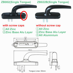 Multi Points Lock Handle for Aluminium Profile (ZB002) pictures & photos