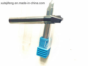 2016 CNC Tungsten Carbide 4 Flute Chamfer End Mill Cutters pictures & photos