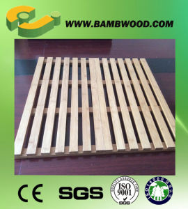 Beautiful Natural Carbonized Bamboo Pet Mat pictures & photos