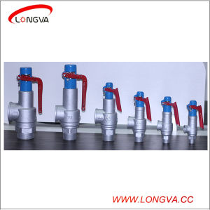 Stainless Steel High Temperature Steam Boiler Safety Valve pictures & photos