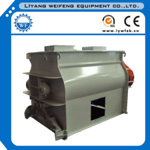 0.5-15ton/Batch Double Paddle Shaft Mixer Machinery for Making Animal Feed pictures & photos